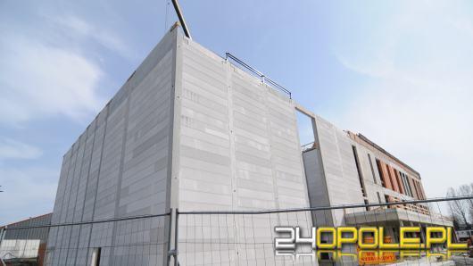Budowa Opolskiego Parku Sportu nie zwalnia. Zobaczcie jak wygląda