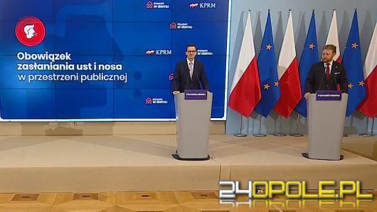 Premier Mateusz Morawiecki przedłuża obowiązujące obostrzenia