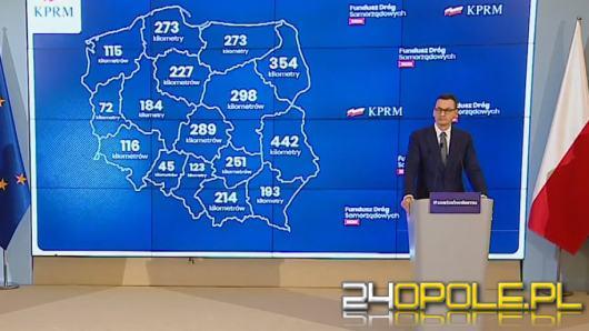 Mateusz Morawiecki: Wspierając budowę dróg pomożemy wydostać się Polakom z kłopotów gospodarczych