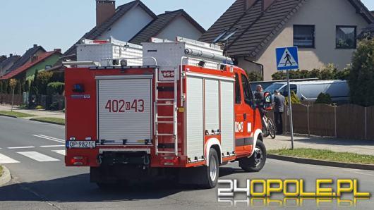 Awaria gazociągu w Grodkowie. Ewakuowano blisko 100 osób