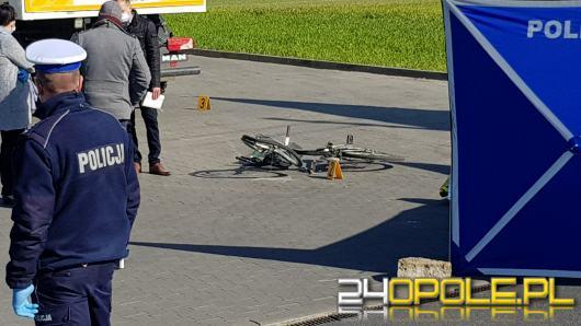 Potrącenie w Zawadzie koło Opola. Nie żyje rowerzysta