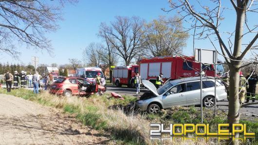 Do 3 zdarzeń drogowych doszło po południu w powiecie nyskim