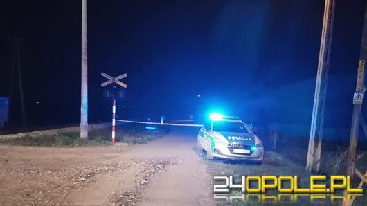 Tragedia w Komprachcicach. 22-latek potrącony przez pociąg