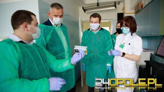 Uniwersytecki Szpital Kliniczny dostał urządzenie do wykrywania koronawirusa