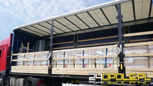 Zatrzymano 11 ton oleju palmowego na polsko - czeskim przejściu granicznym w Trzebini