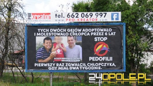 Autorzy kontrowersyjnego bilbordu na Prószkowskiej w Opolu zabierają głos