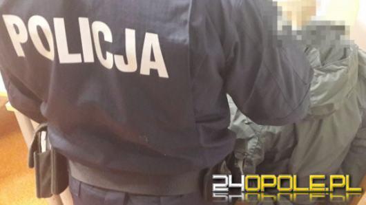 Po pościgu został zatrzymany przez kryminalnych