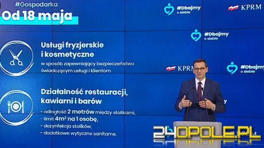 Premier przedstawił szczegóły III etapu odmrażania gospodarki