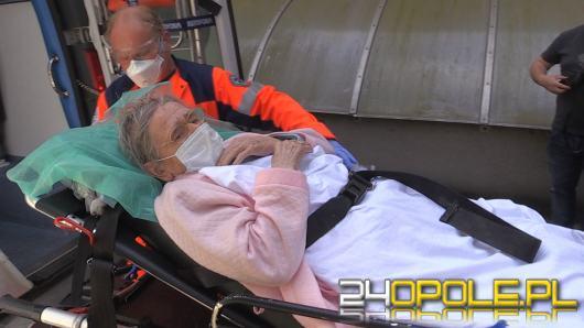 """103-letnia pani Teresa opuściła szpital. """"To okaz zdrowia"""""""