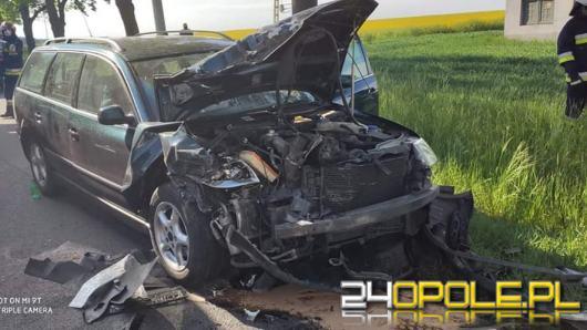 4 osoby poszkodowane po zderzeniu pojazdów w Suchodańcu