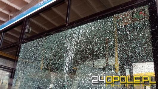 Autobus z pasażerami miał zostać ostrzelany z wiatrówki? Policja bada sprawę