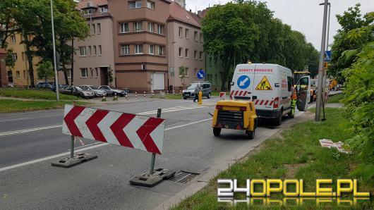 Uwaga piesi i kierowcy! Utrudnienia na ulicy Plebiscytowej w Opolu