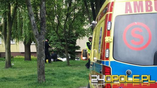 Śmierć na trawniku przy ulicy Wiejskiej w Opolu