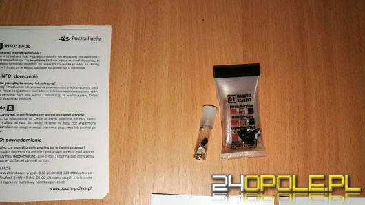 Metamfetamina w liście do skazanego w Zakładzie Karnym w Prudniku