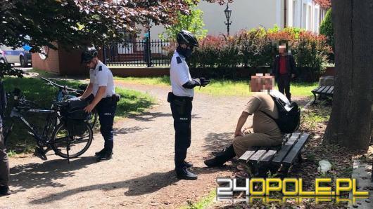 Zgłaszający twierdził, że jeden z bezdomnych po bójce miał zostać wrzucony do Młynówki