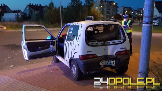 Zderzenie pojazdów w pobliżu Alei Solidarności w Opolu. Jedna osoba ranna
