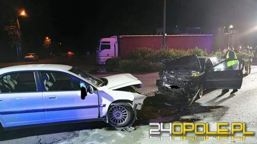 """4 osoby ranne w nocnym wypadku w Namysłowie. """"Brawura i alkohol"""""""