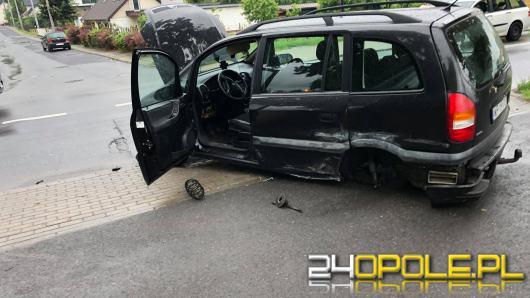 Wypadek na ulicy Budowlanych w Opolu
