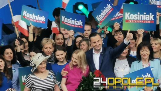 Wybory prezydenckie 2020. Władysław Kosiniak-Kamysz w Opolu