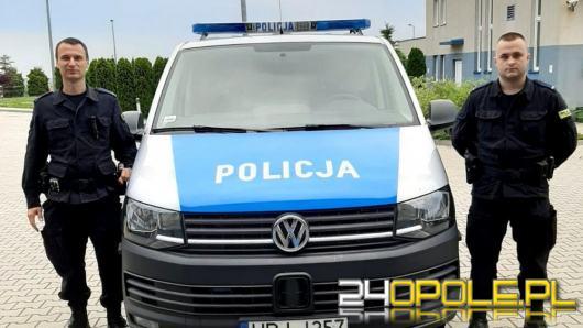 Policjanci uratowali 32-letniego mężczyznę