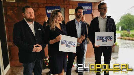 Krzysztof Śmiszek w Opolu podsumował kampanię wyborczą Roberta Biedronia
