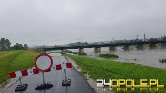Najwyższe stany wód w Opolu prognozowane są na 24 czerwca przed południem