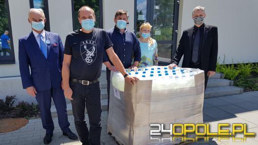 Paweł Kukiz uczestniczył w przekazaniu środków do dezynfekcji dla Brzeskiego Centrum Medycznego