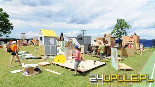 W Raszowej pod Opolem dzieci budują mini miasto. Efekt jest niesamowity