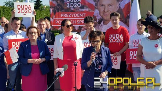 Marszałek Sejmu na Opolszczyźnie przekonywała do wzięcia udziału w wyborach