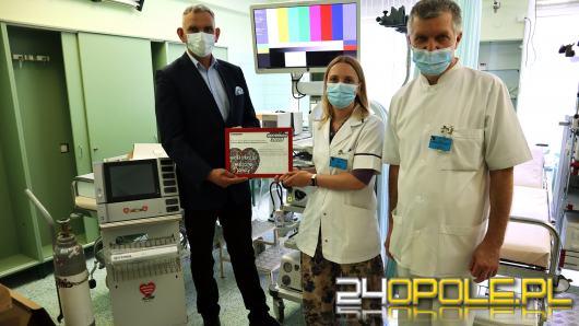 Kolejny sprzęt od WOŚP trafił do Uniwersyteckiego Szpitala Klinicznego w Opolu