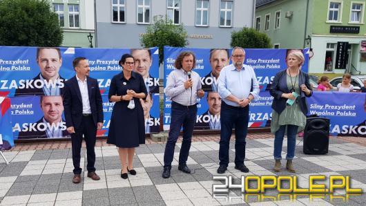 Prezydent Gdańska, Sopotu oraz senator Piotr Adamowicz z poparciem dla Rafała Trzaskowskiego