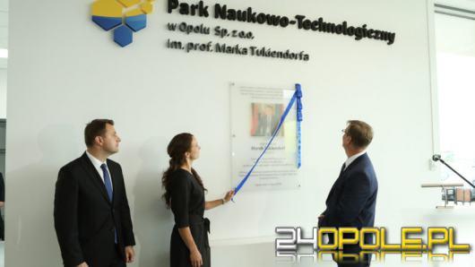 Park Naukowo-Technologiczny otrzymał imię śp. prof. Marka Tukiendorfa