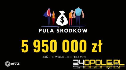 Jeszcze tylko przez kilka godzin można zgłaszać projekty w Budżecie Obywatelskim Opola