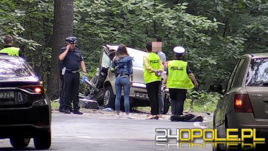 46-latek zginął na trasie Turawa-Rzędów