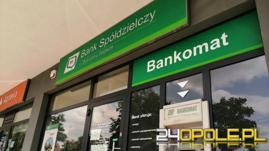 Napad na bank w Opolu. Sprawca jest już w rękach policji