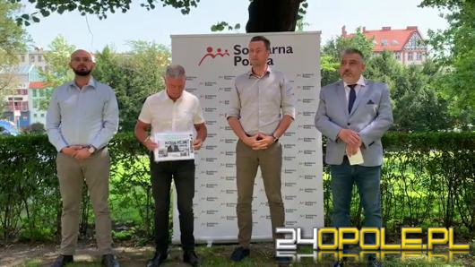 Przedstawiciele Solidarnej Polski żądają dymisji marszałka Andrzeja Buły
