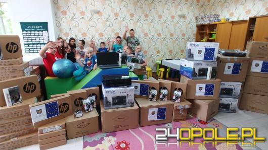 Nowy sprzęt komputerowy trafił do opolskich Domów Dziecka
