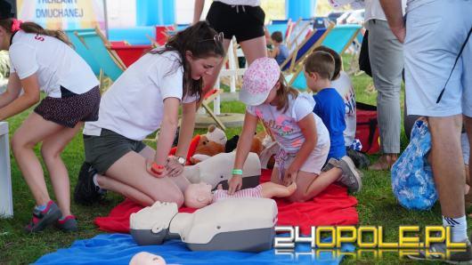 Piknik przy Miasteczku Strażackim zgromadził młodych fanów straży pożarnej