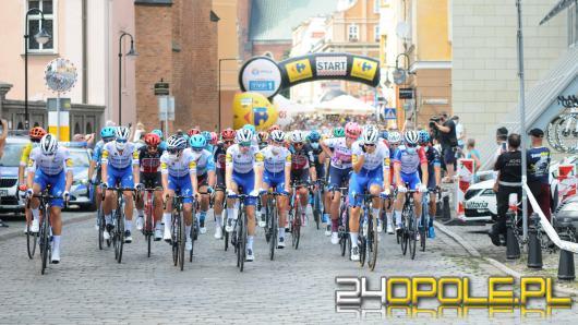 Drugi etap 77. Tour de Pologne wystartował z opolskiego Rynku