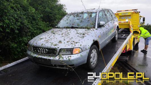 Sprawca wypadku na obwodnicy Opola zgłosił się na policję