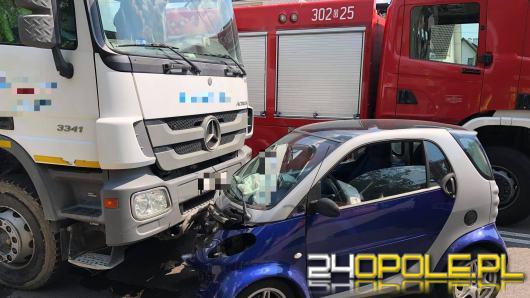 Wypadek w Opolu - Chmielowicach. Lądował śmigłowiec LPR