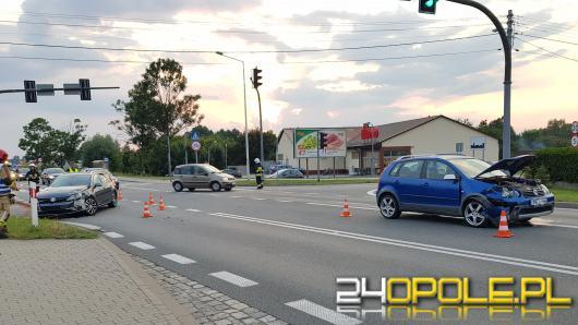 Zderzenie pojazdów w Chrząstowicach