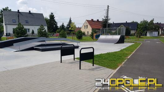 W Dąbrowie otwarto rolkowisko i skatepark