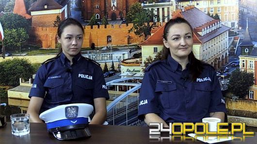 Mł. asp. Agnieszka Nierychła i sierż. Agata Pilawka - o kobietach w mundurach