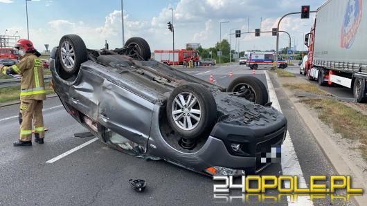 Wypadek na obwodnicy Opola