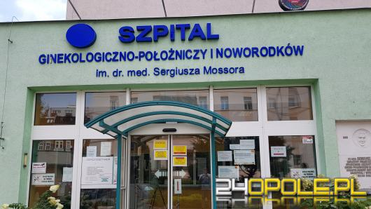 Szpital Ginekologiczny w Opolu wznawia przyjęcia
