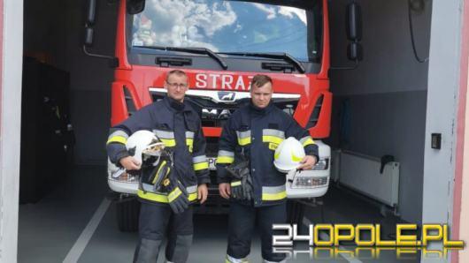 Strażacy ochotnicy z OSP Źlinice-Boguszyce uratowali życie mężczyźnie z zawałem