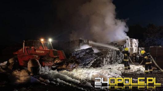 W Gogolinie płonęły pokłady kolejowe