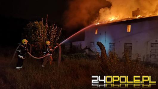 Pożar budynku przy ul Konopnickiej w Gogolinie