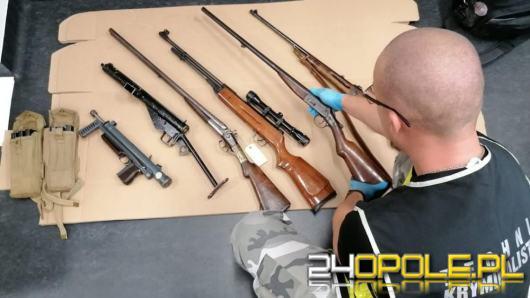 Posiadał 35 sztuk różnego rodzaju nielegalnej broni